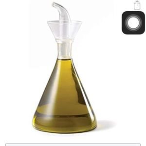 chefstable glass oil/soap dispenser